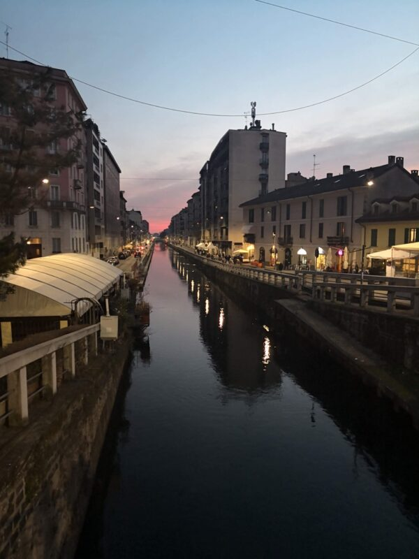 Milan on water: Navigli